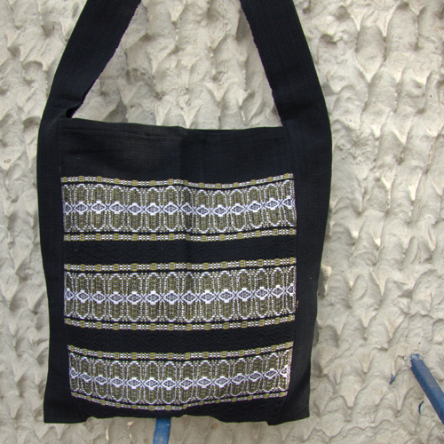 2511676-Hand Woven Shoulder Bag