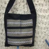 2511676-Hand Woven Shoulder Bag