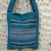2511680-Hand Woven Shoulder Bag