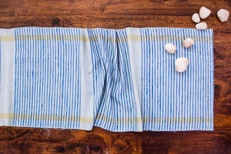 2818254-Eri Silk Hand Woven Table Runner