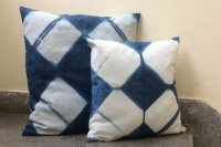 2821210-Cotton Indigo Cushion Cover