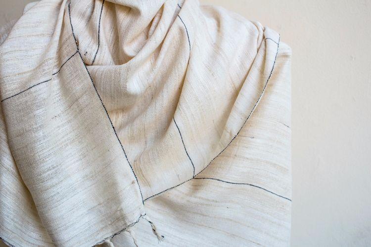 2822328-Eri Silk  Hand  Spun  &  Hand Woven