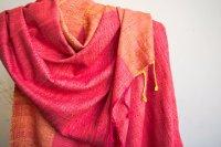 2822340-Eri Silk  Hand  Spun  &  Hand Woven