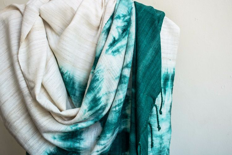 2822359-Eri Silk  Hand  Spun  &  Hand Woven