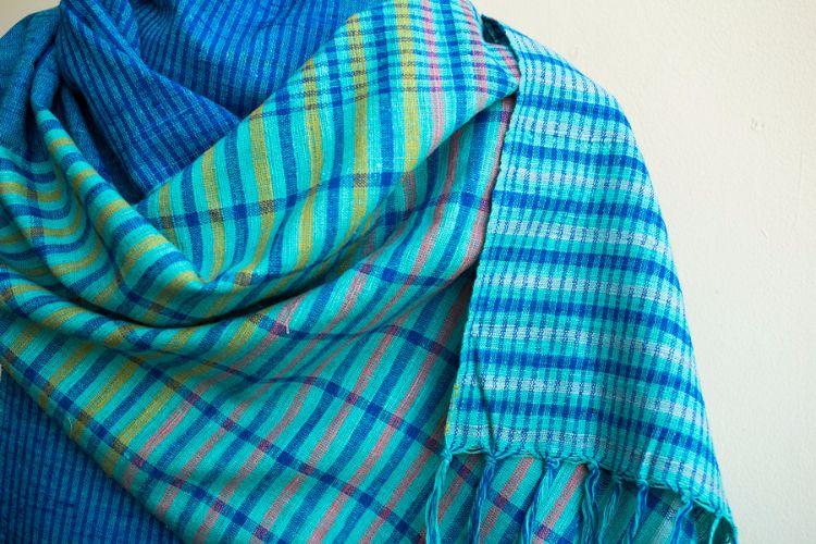 2822447-Eri Silk  Hand  Spun  &  Hand Woven