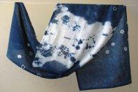 2822508-Indigo Cotton Scarf
