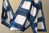 2822509-Indigo Cotton Scarf