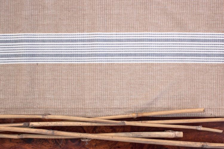 6918269-Hand Woven Cotton-Table Runner