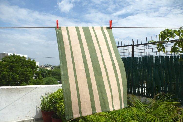 6927434-Hand Woven Cotton Tea Towel