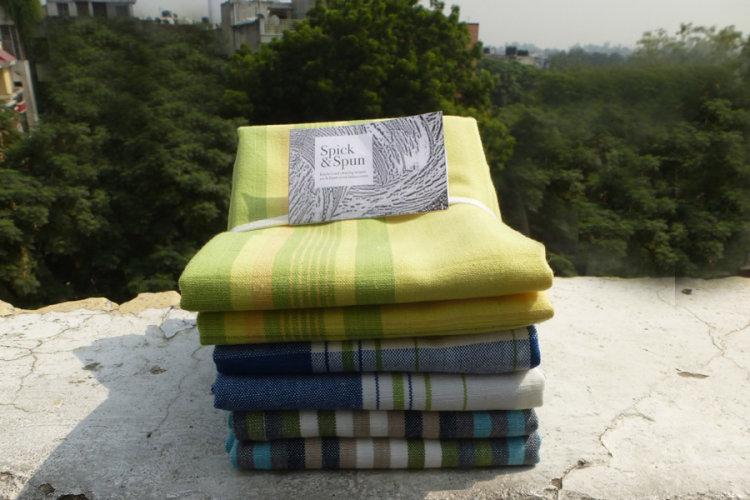 6927446 Set of 6 Spick & Spun Tea Towels
