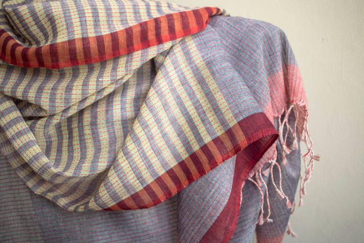 7722468-Organic cotton Hand Woven