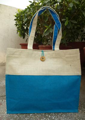Double Tone Jute Bag -5011588
