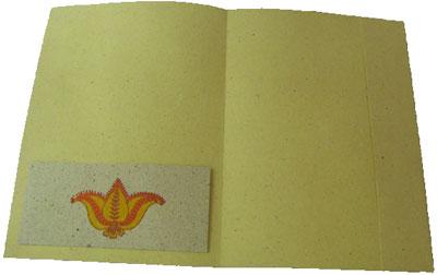 The same folder from Hubli, inside.