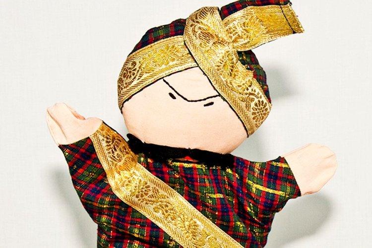 3517213a-Maharaja puppet