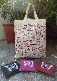 Bag in Bag Jute Bag -  1411651,  1411652, 1411653,
