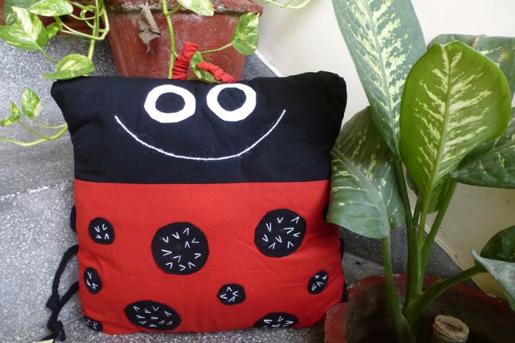3517345 - Ladybird Cushion