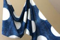Indigo Scarves & Cushion Covers