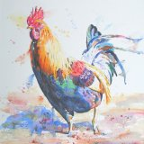 Cockerel, by David Wells