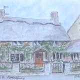High Street Potterspury, by Olivia Davies