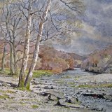 Derwent at Grange, by Alan Chown