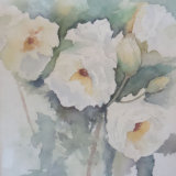 White Roses, by Brenda Fisher