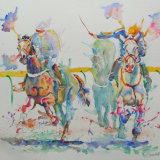 Galloping Horses, by David Wells
