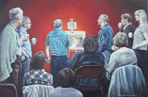 The Art Demonstration, by Charmian Hayes