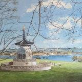 Willen Pagoda, by Mike Bloor