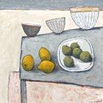 Lemons, Pots And Pears       Acrylic       450mm x 450mm