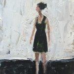 Little Black Dress       Acrylic and Gouache       175mm x 125mm