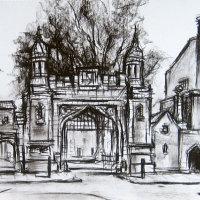 The Gates At Lincoln's Inn.