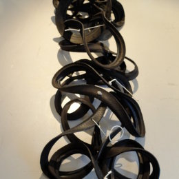 Loop Tyre Sculpture MA Show