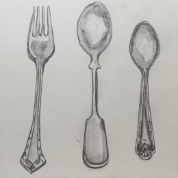 Research - sketching utensils