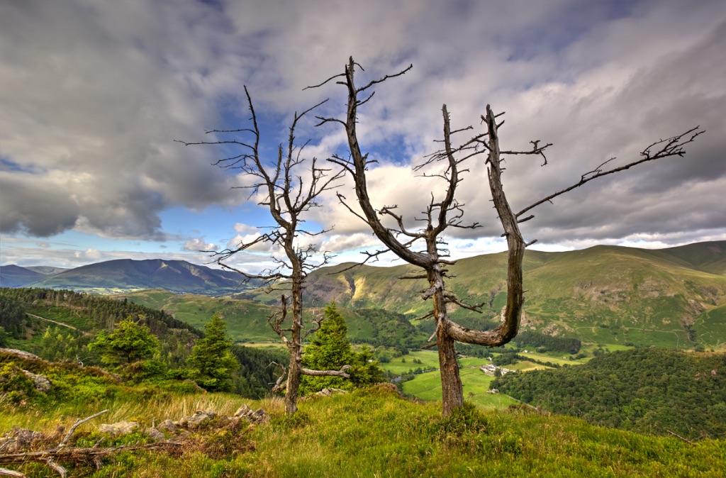 Blencathra From Raven Crag