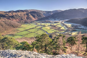 Borrowdale From Castle Crag 2