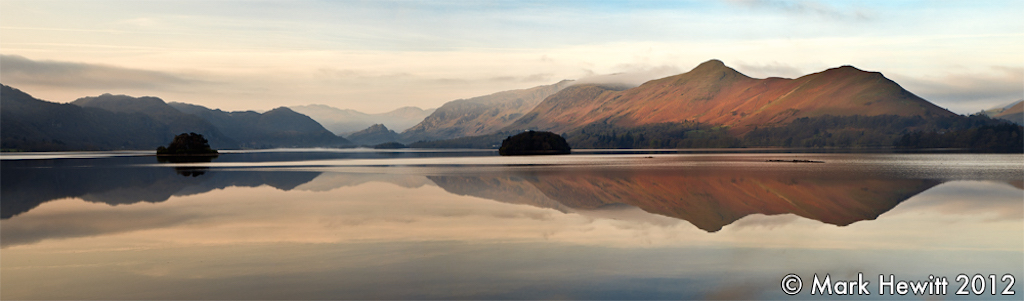 Borrowdale & Catbells From Friars Crag