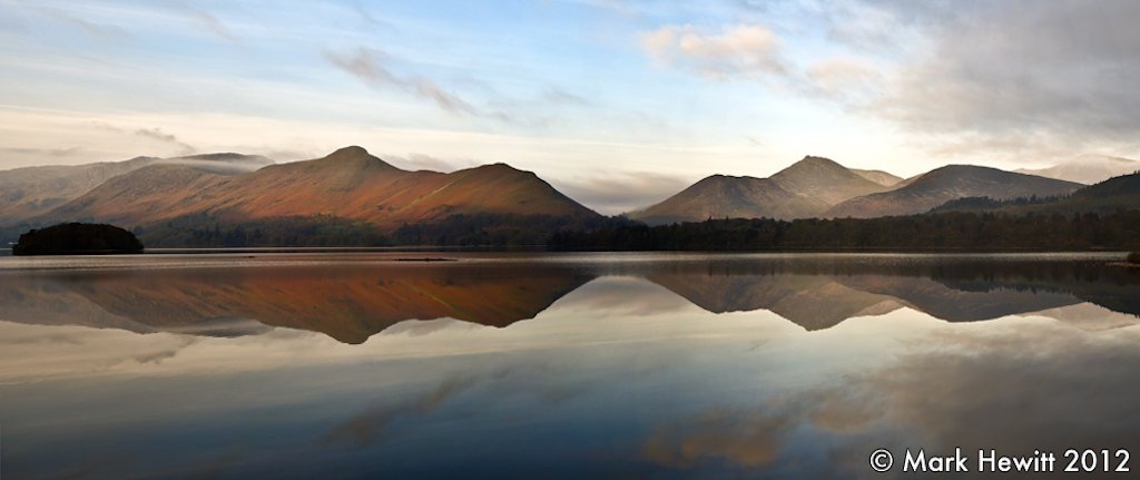 Catbells, Causey Pike & Barrow Fell From Friars Crag