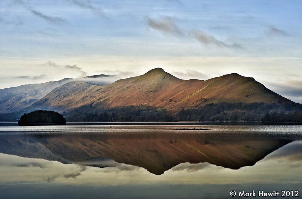 Catbells & Maiden Moor From Friars Crag