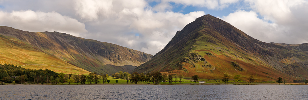 Dale Head & Fleetwith Pike From Buttermere