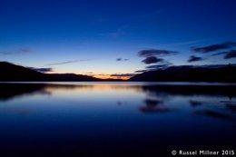 Derwentwater After Sunset