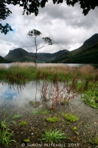 Fleetwith Pike & Haystacks Over Buttermere