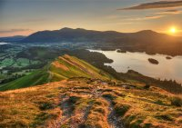 Sunrise Over Catbells
