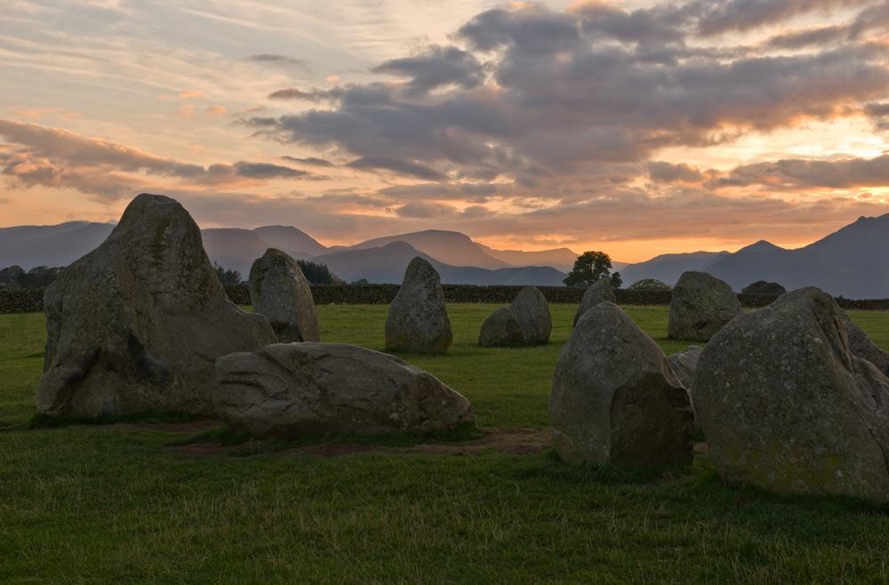Sunset At Castlerigg Stone Circle