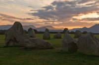 Sunset At Castlerigg Stone Circle