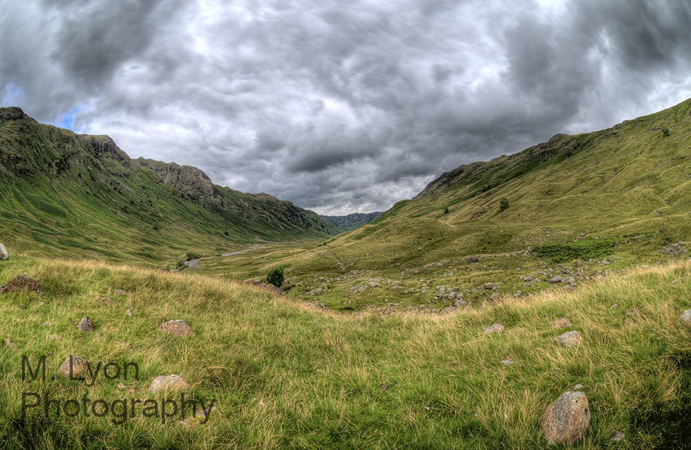 Valley in the Langdales