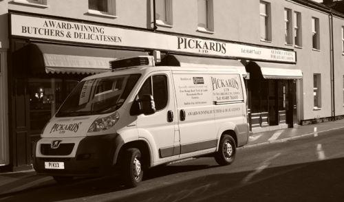 Pickard's the Butchers Shopfront