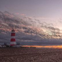 Happisburgh Lighthouse at Sunset