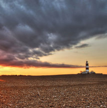 Storm Brewing Over Happisburgh Lighthouse