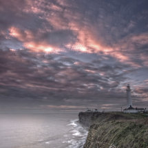 Sunset at Nash Point
