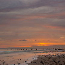 First Light over Happisburgh